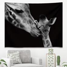 Tapisserie mit Giraffe Muster