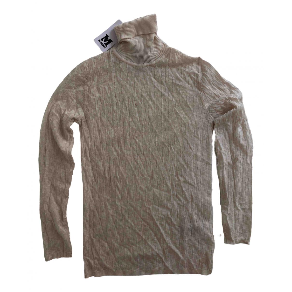 M Missoni \N White Wool Knitwear for Women 42 IT