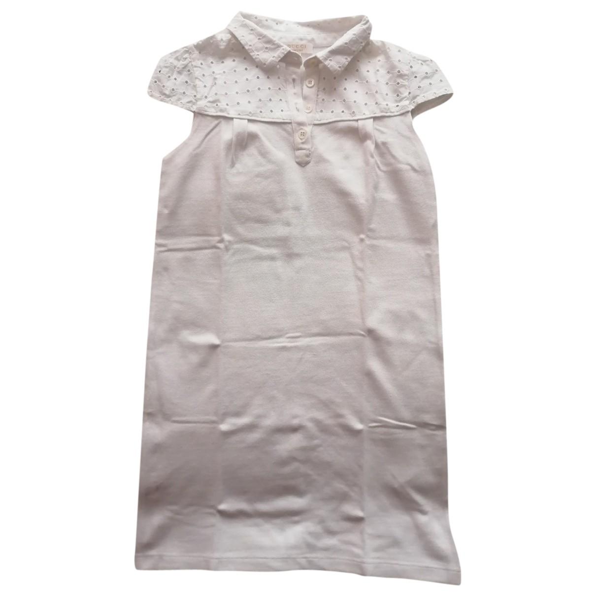 Gucci - Robe    pour enfant en coton - blanc