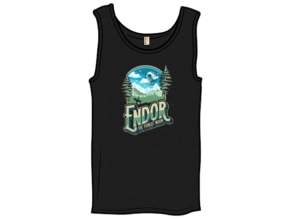 Endor The Forrest Moon Tank Top
