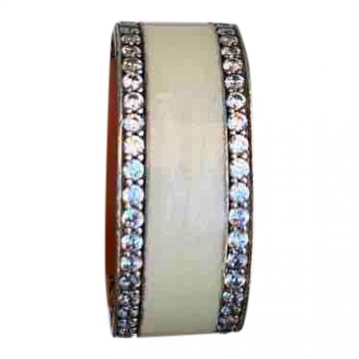 Pandora \N Ring in  Weiss Silber