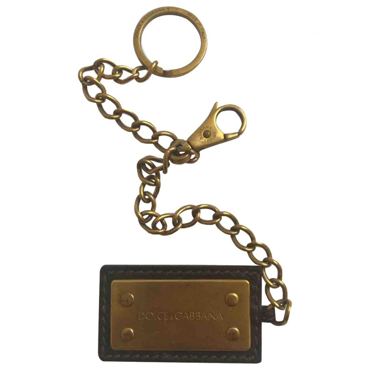 Dolce & Gabbana \N Kleinlederwaren in  Gold Metall
