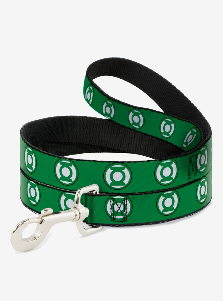 DC Comics Green Lantern Logo Dog Leash