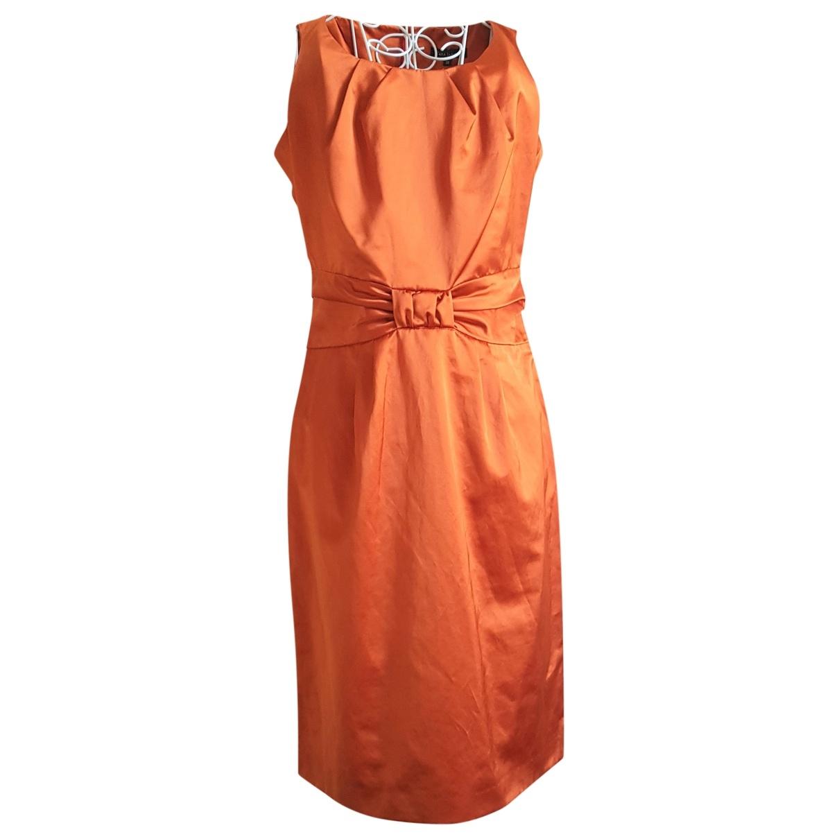 Tara Jarmon \N Orange Cotton dress for Women 38 IT