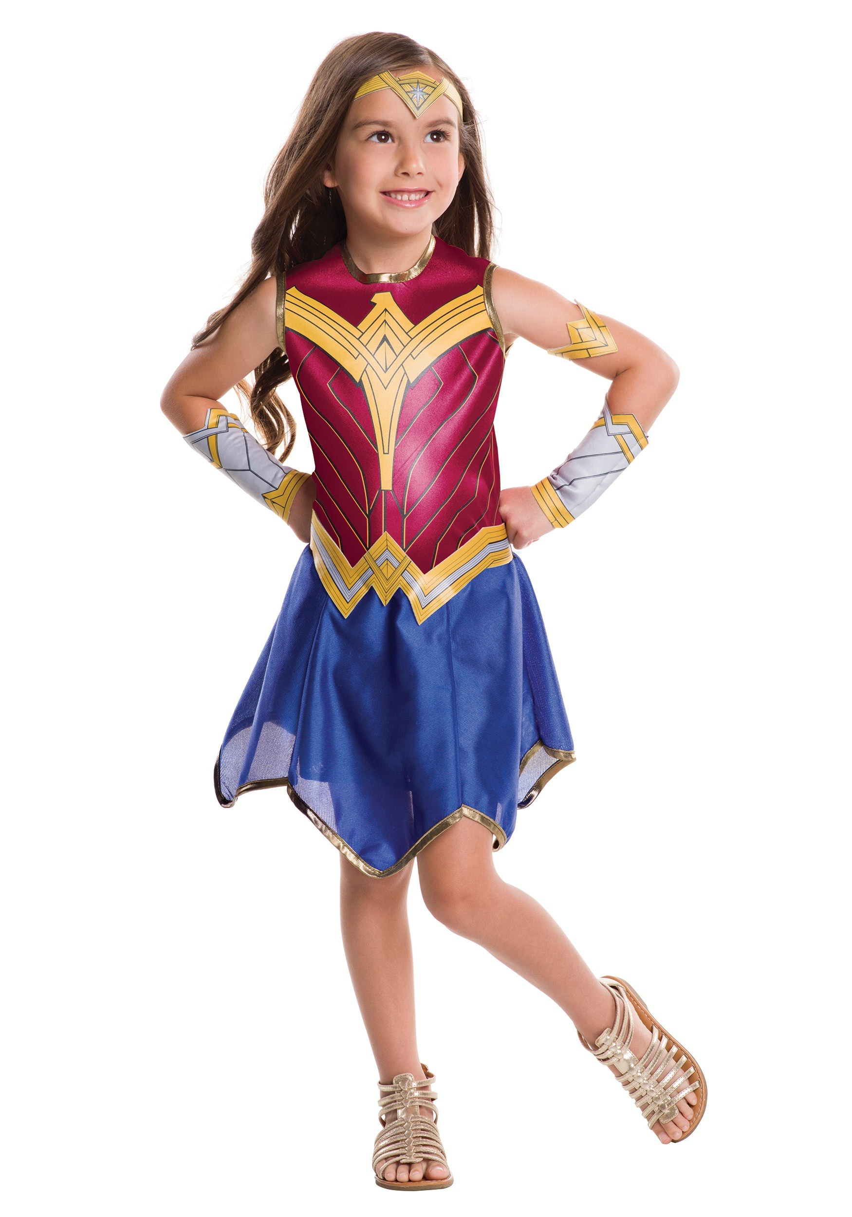 Dawn of Justice Wonder Woman Kids Costume