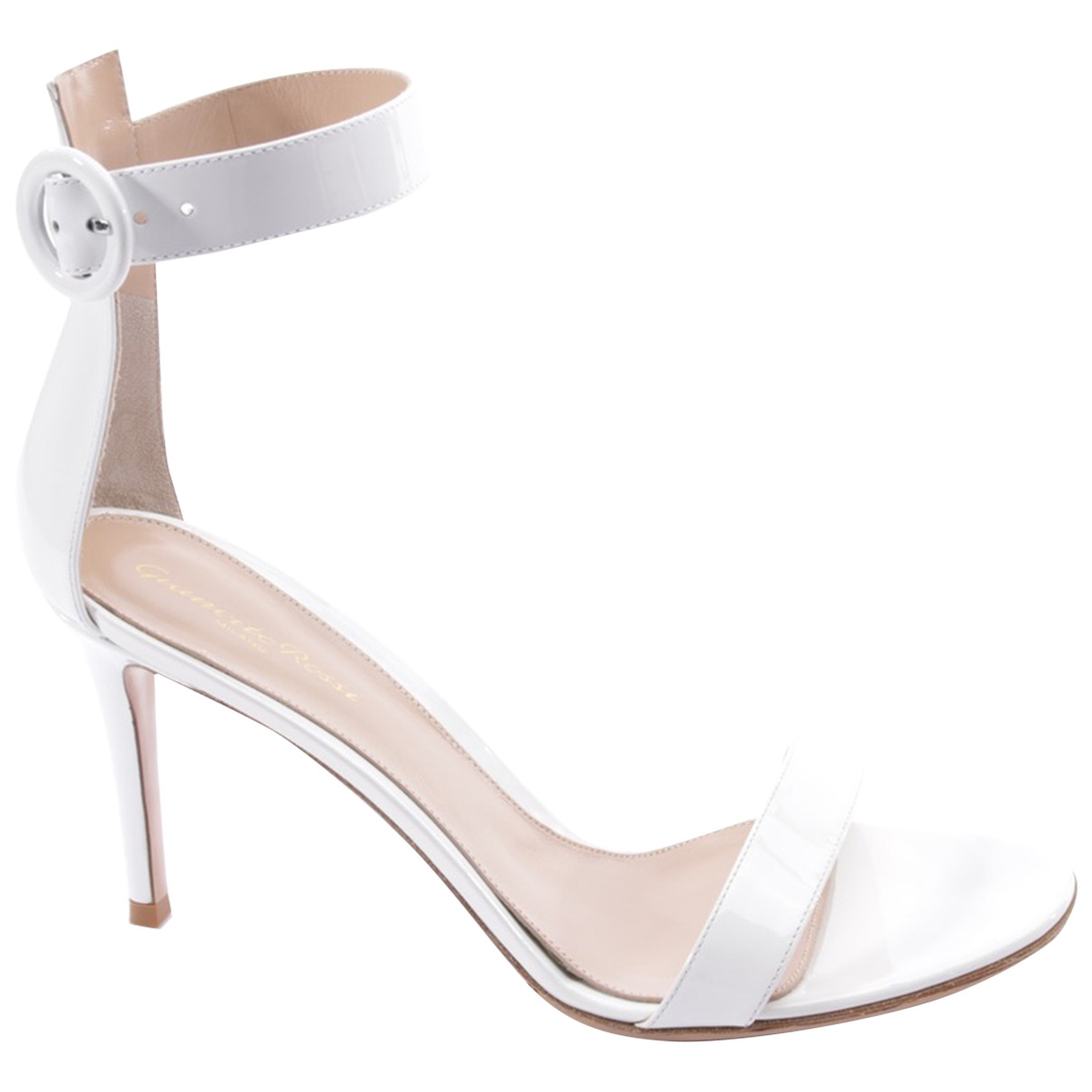 Gianvito Rossi \N White Leather Sandals for Women 42 EU