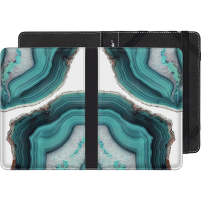 Pocketbook Touch Lux 2 eBook Reader Huelle - Sea Agate von Emanuela Carratoni