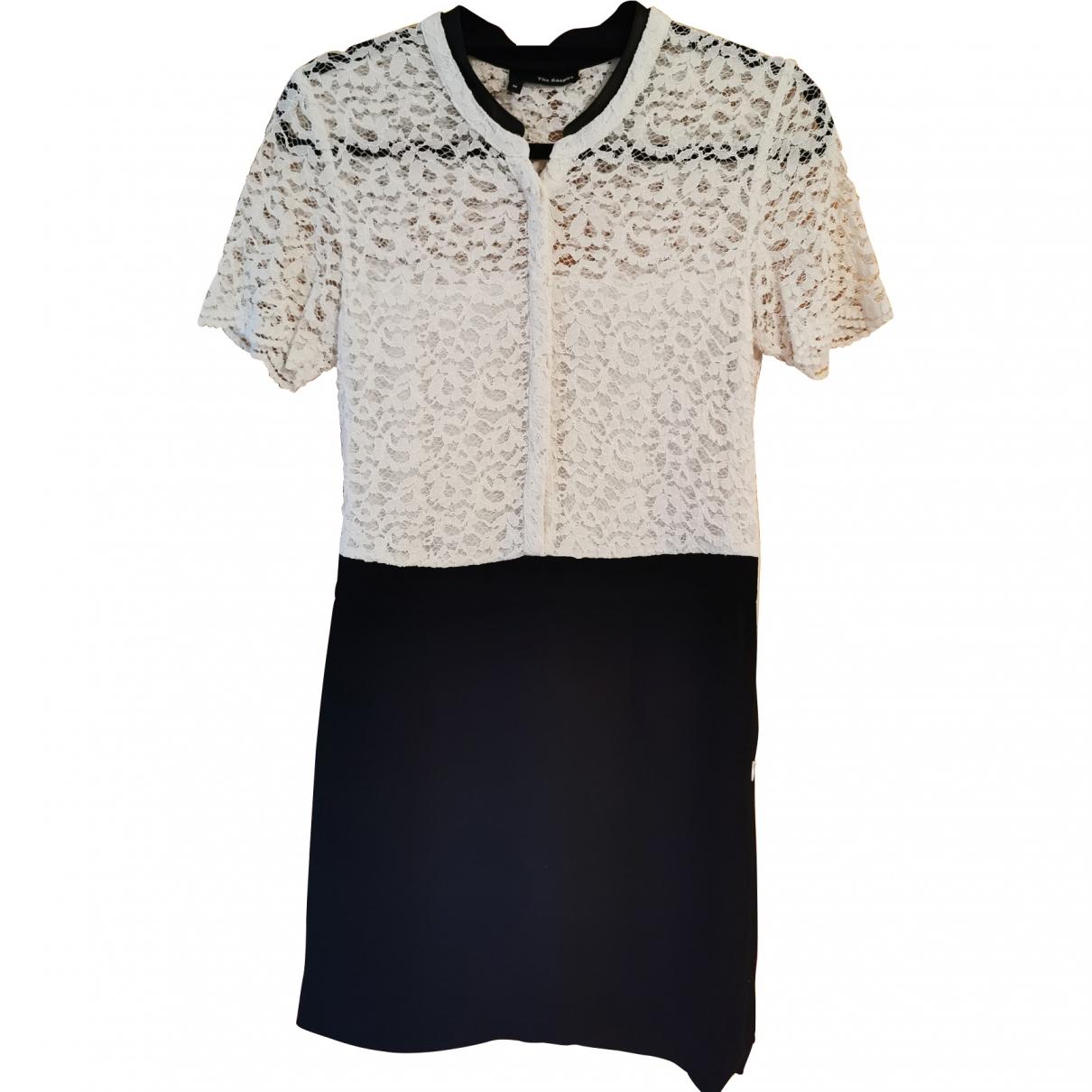 The Kooples - Robe   pour femme en coton - elasthane - multicolore