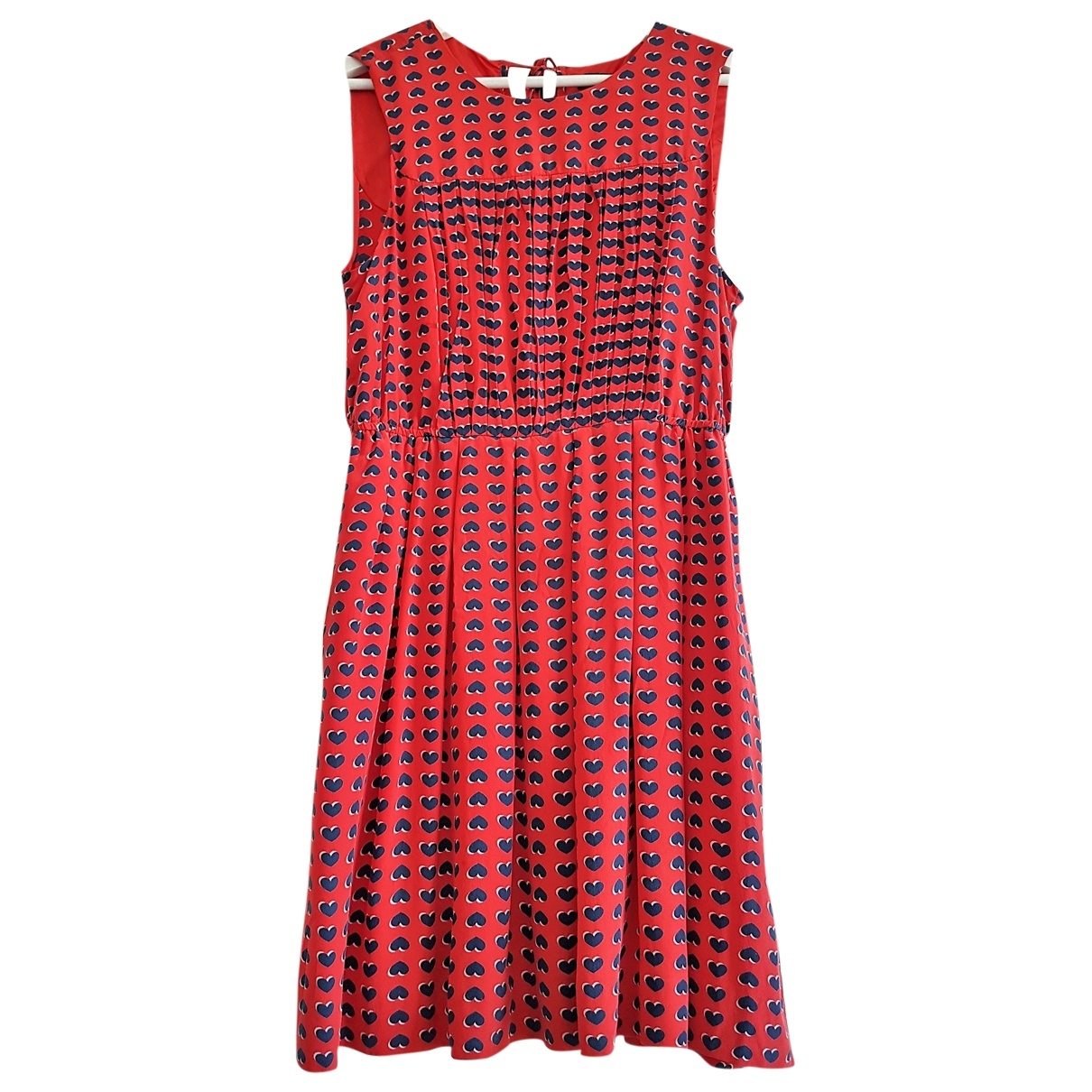 Marc By Marc Jacobs \N Red Silk dress for Women M International