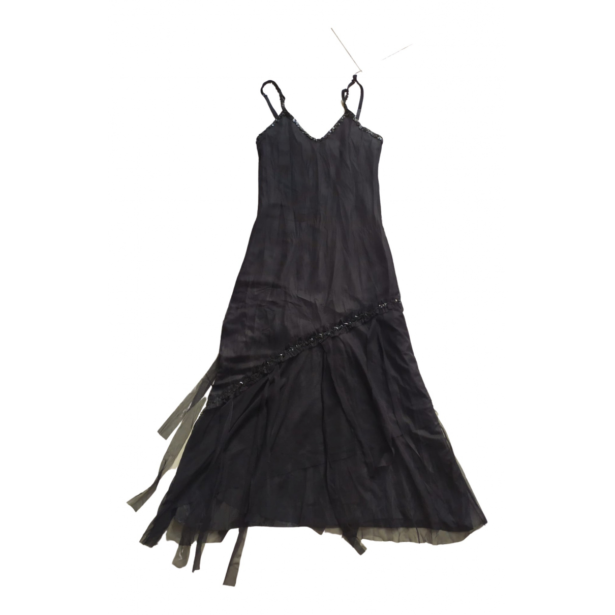 Non Signé / Unsigned \N Black dress for Women 38 FR