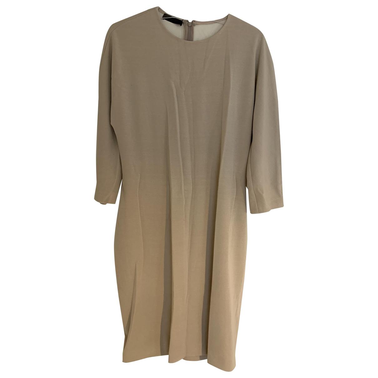 Calvin Klein - Robe   pour femme - beige