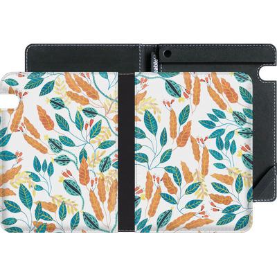Amazon Kindle Voyage eBook Reader Huelle - Wild Leaves von Iisa Monttinen