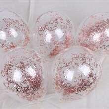 10 piezas globo con lentejuelas