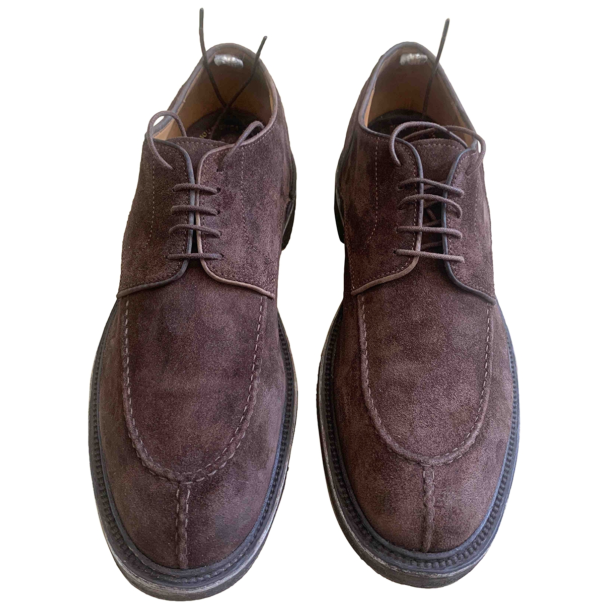 Officine Creative \N Brown Suede Lace ups for Men 46 EU