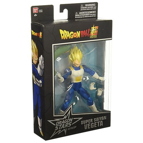 Dragon Ball Stars Super Saiyan Vegeta Action Figure