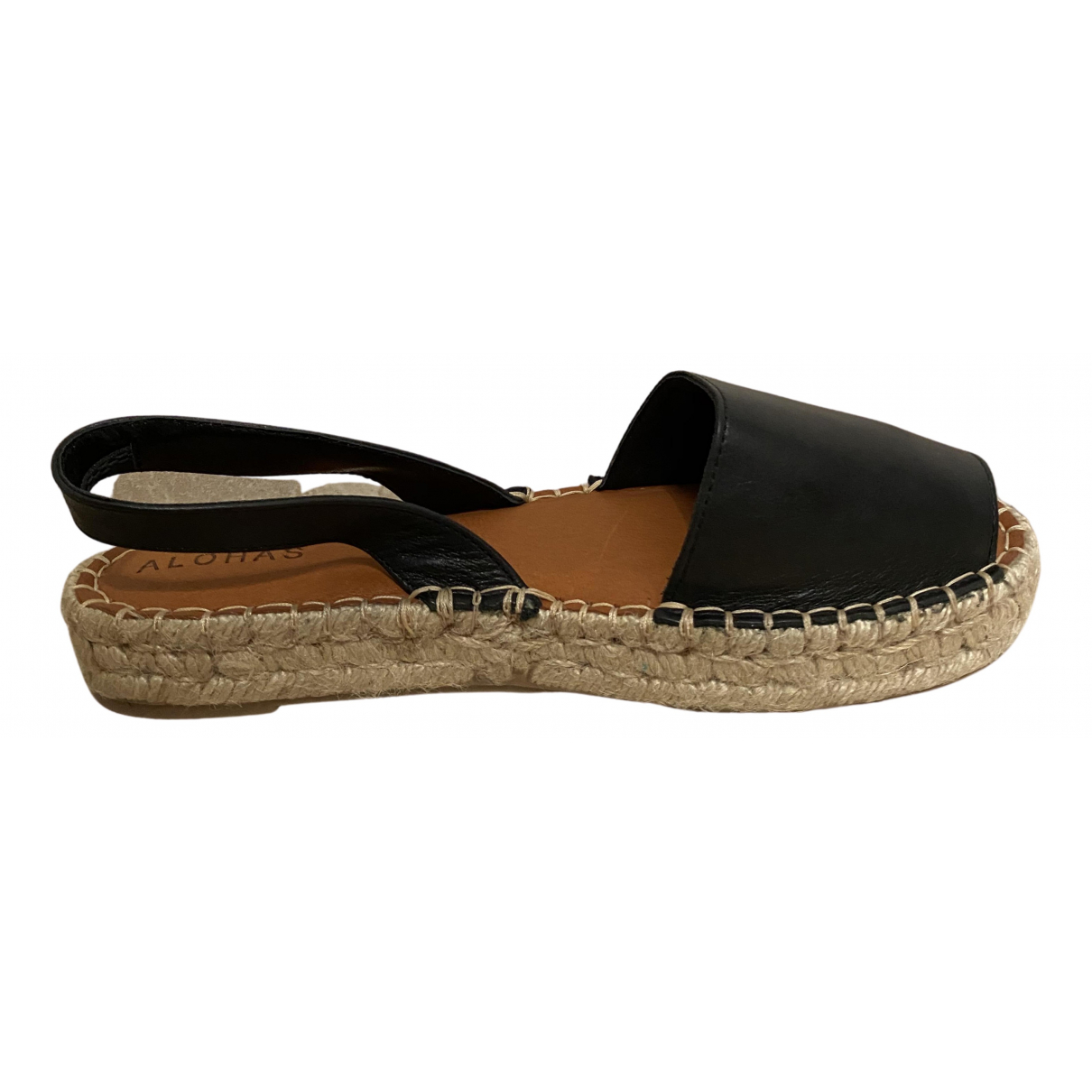 Alohas \N Sandalen in  Schwarz Leder