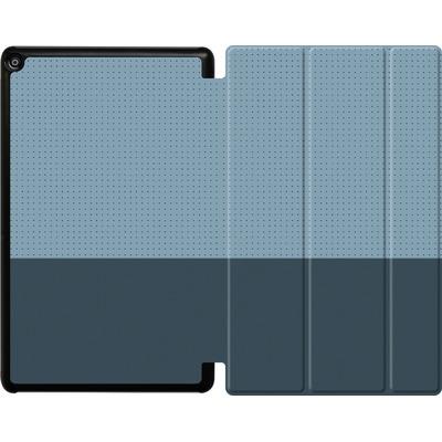 Amazon Fire HD 10 (2018) Tablet Smart Case - Dot Grid Blue von caseable Designs
