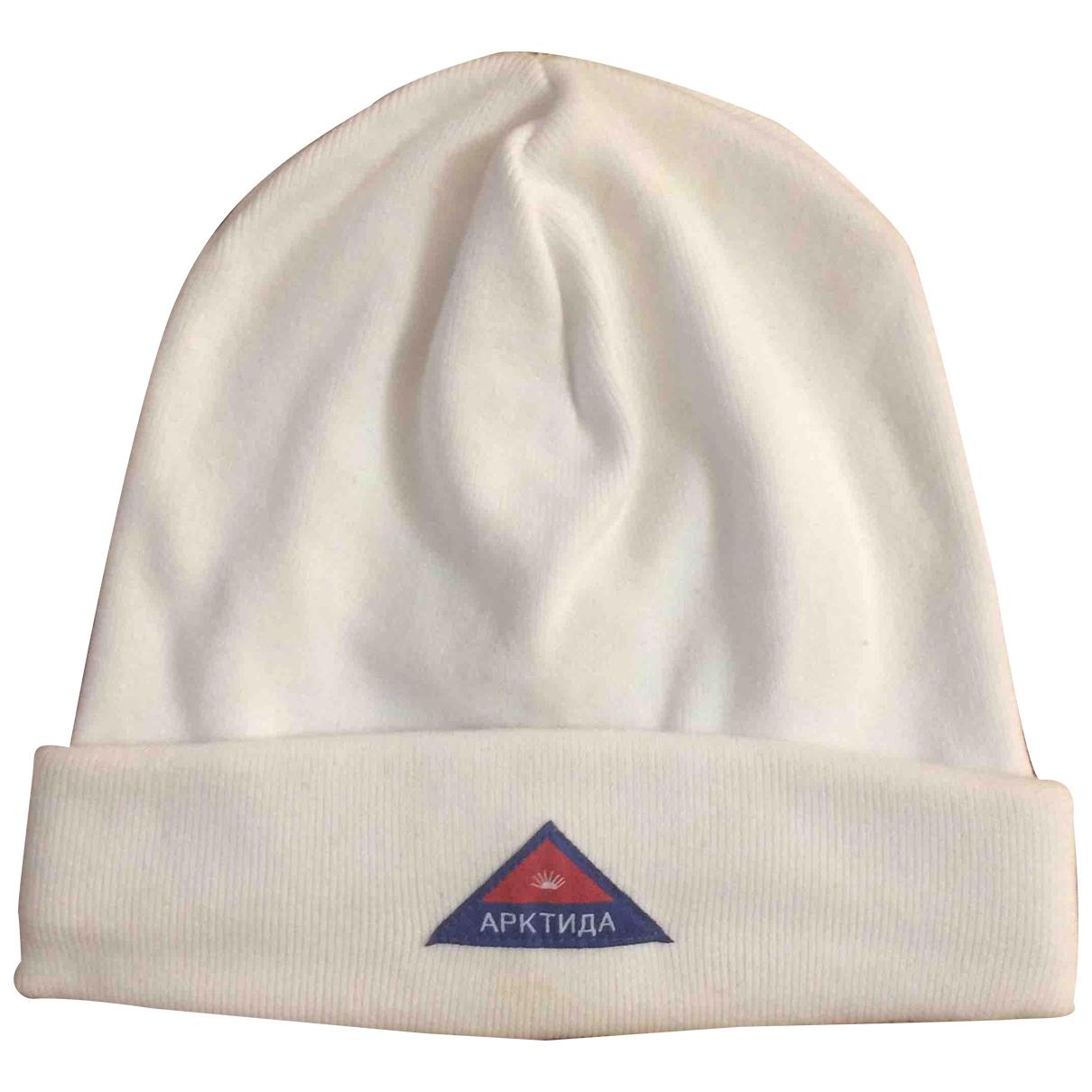 Gosha Rubchinskiy - Chapeau & Bonnets   pour homme en coton - blanc