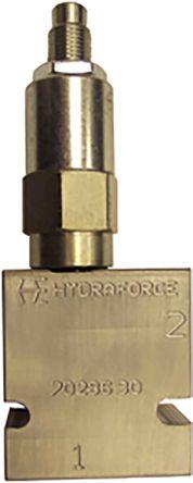 HydraForce Line Mounting Hydraulic Relief Valve RV10-26A-3B-N-4