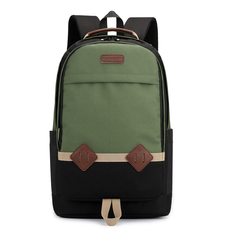 6231 Fashion Laptop Backpack Women Canvas Bags Men Oxford Travel Casual Backpacks Retro Casual Laptop Bag Teenager Schoo