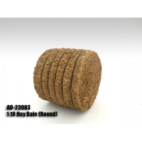 Hay Bale Round Accessory 118 Scale Models by American Diorama