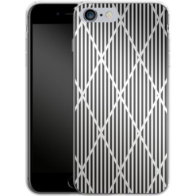 Apple iPhone 6 Plus Silikon Handyhuelle - Black Diamonds von caseable Designs