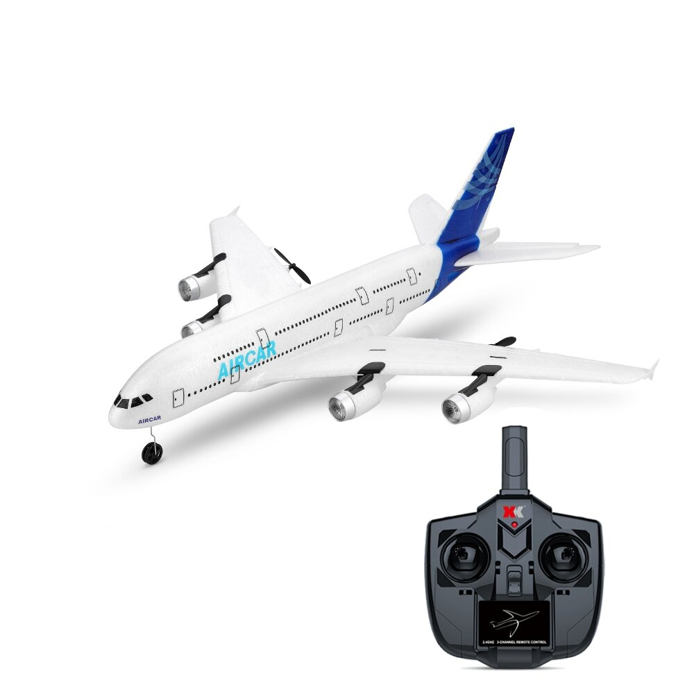WLTOYS A120-A380 Airbus 510mm Wingspan 2.4GHz 3CH RC Drone Airplane Fixed Wing RTF With Mode 2 Remote Controller Scale A