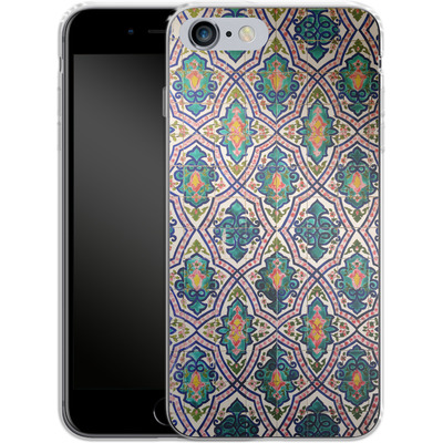 Apple iPhone 6s Plus Silikon Handyhuelle - Tile Pattern von Omid Scheybani