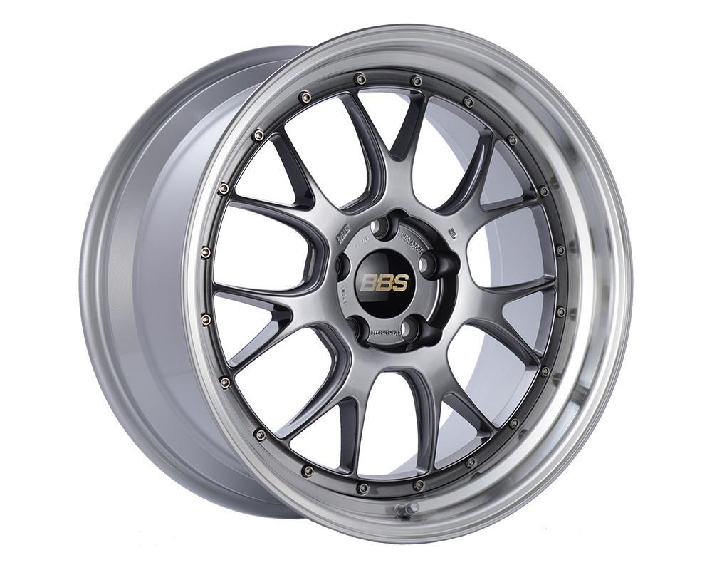 BBS LM-R Wheel 20x10 5x120 18mm Diamond Black | Diamond Cut Rim