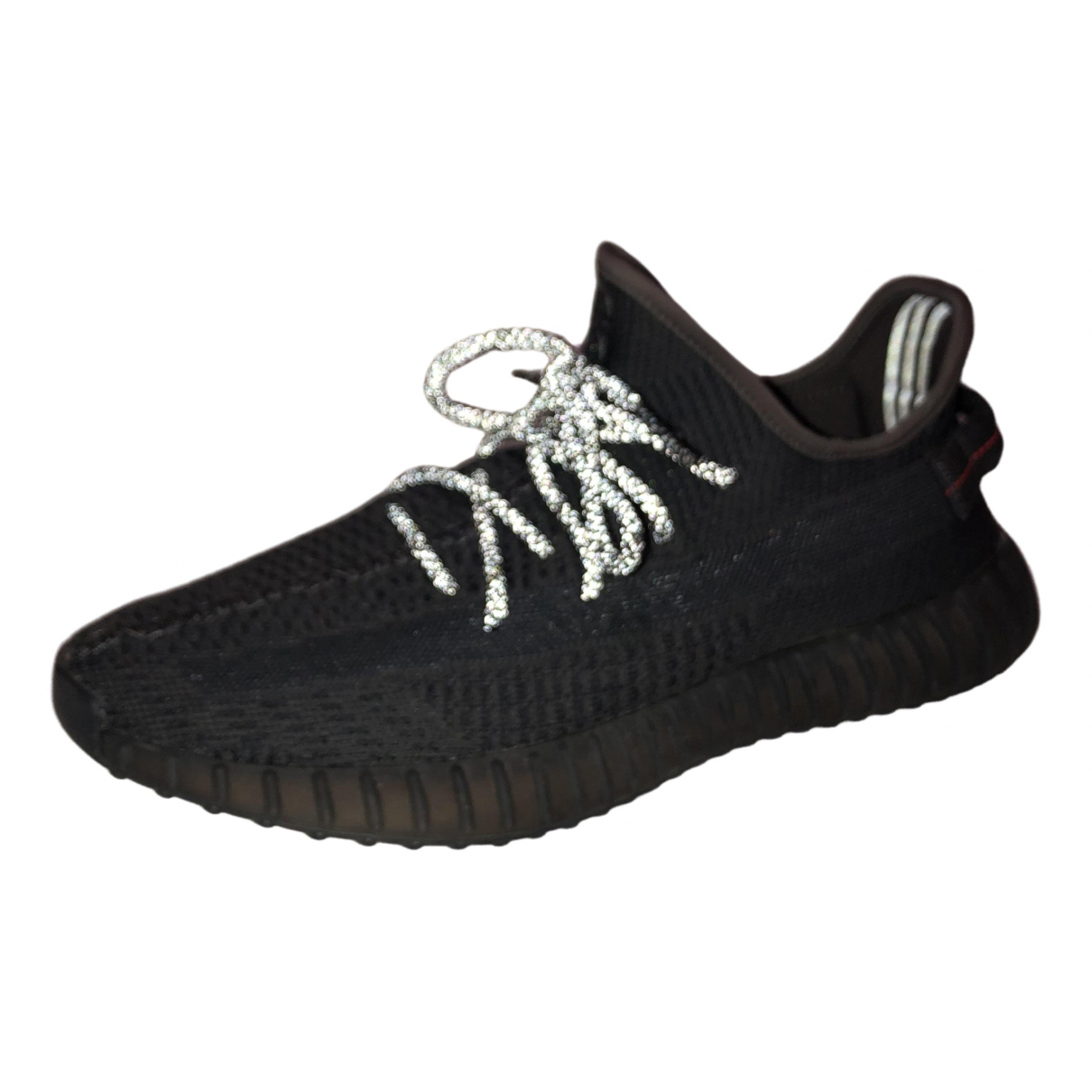Yeezy X Adidas Boost 350 V2 Black Cloth Trainers for Men 11 UK