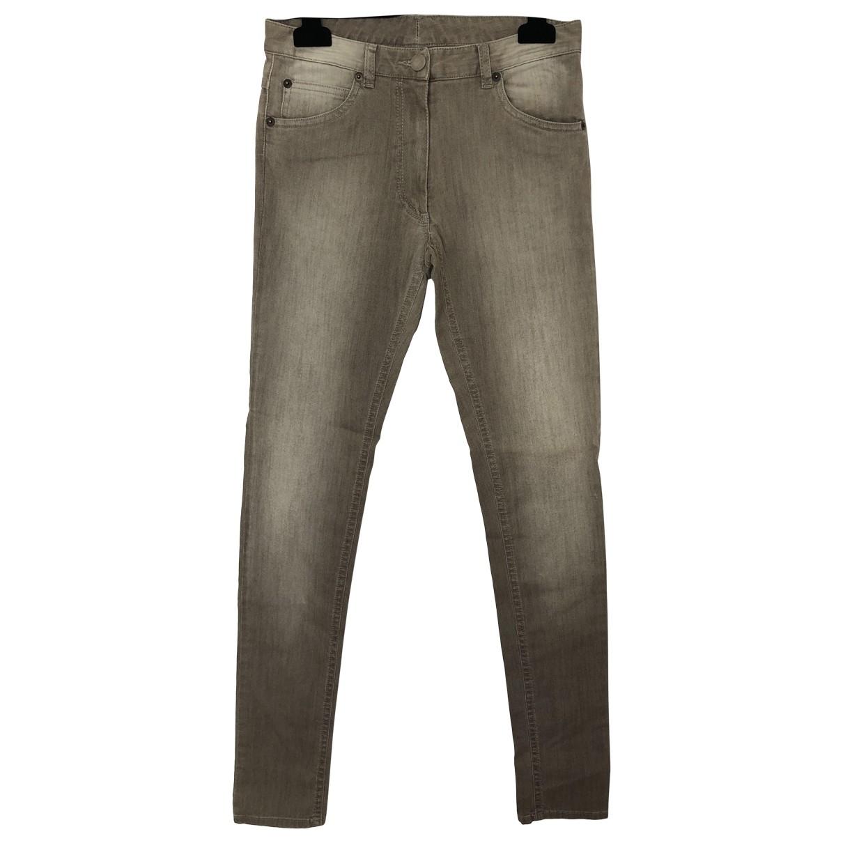 Maison Martin Margiela \N Grey Denim - Jeans Trousers for Women 40 IT