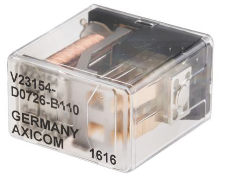 TE Connectivity , 48V dc Coil Non-Latching Relay 4PDT, 2A Switching Current PCB Mount, 4 Pole