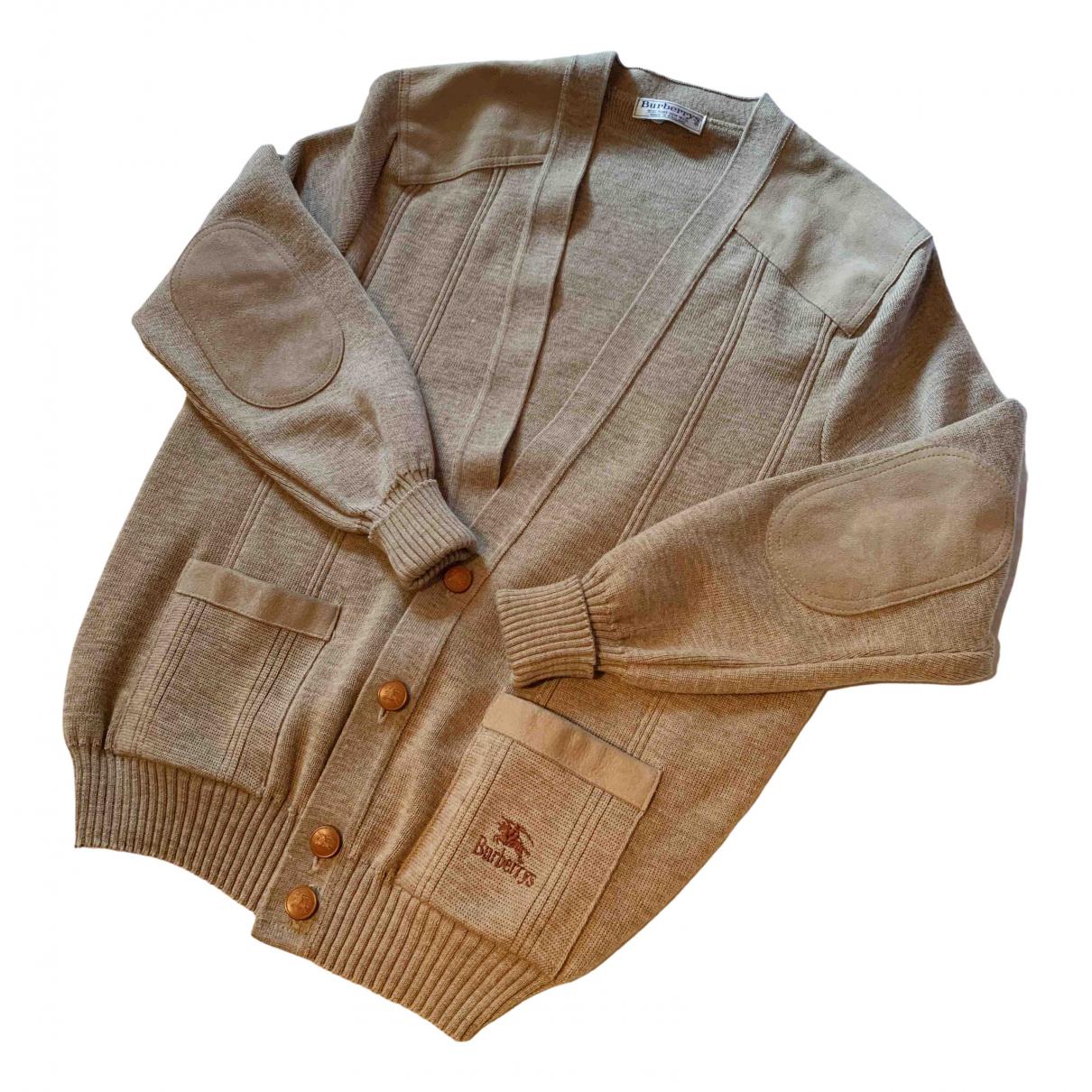 Burberry \N Pullover.Westen.Sweatshirts  in  Beige Baumwolle