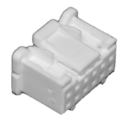 JST , PUD Female Connector Housing, 2mm Pitch, 10 Way, 2 Row (10)