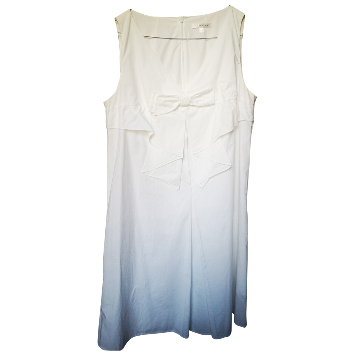 Paule Ka \N White Cotton dress for Women 40 FR