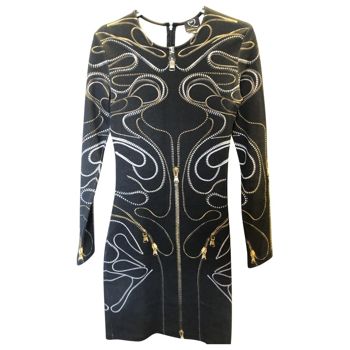 Mcq - Robe   pour femme en coton - elasthane - noir