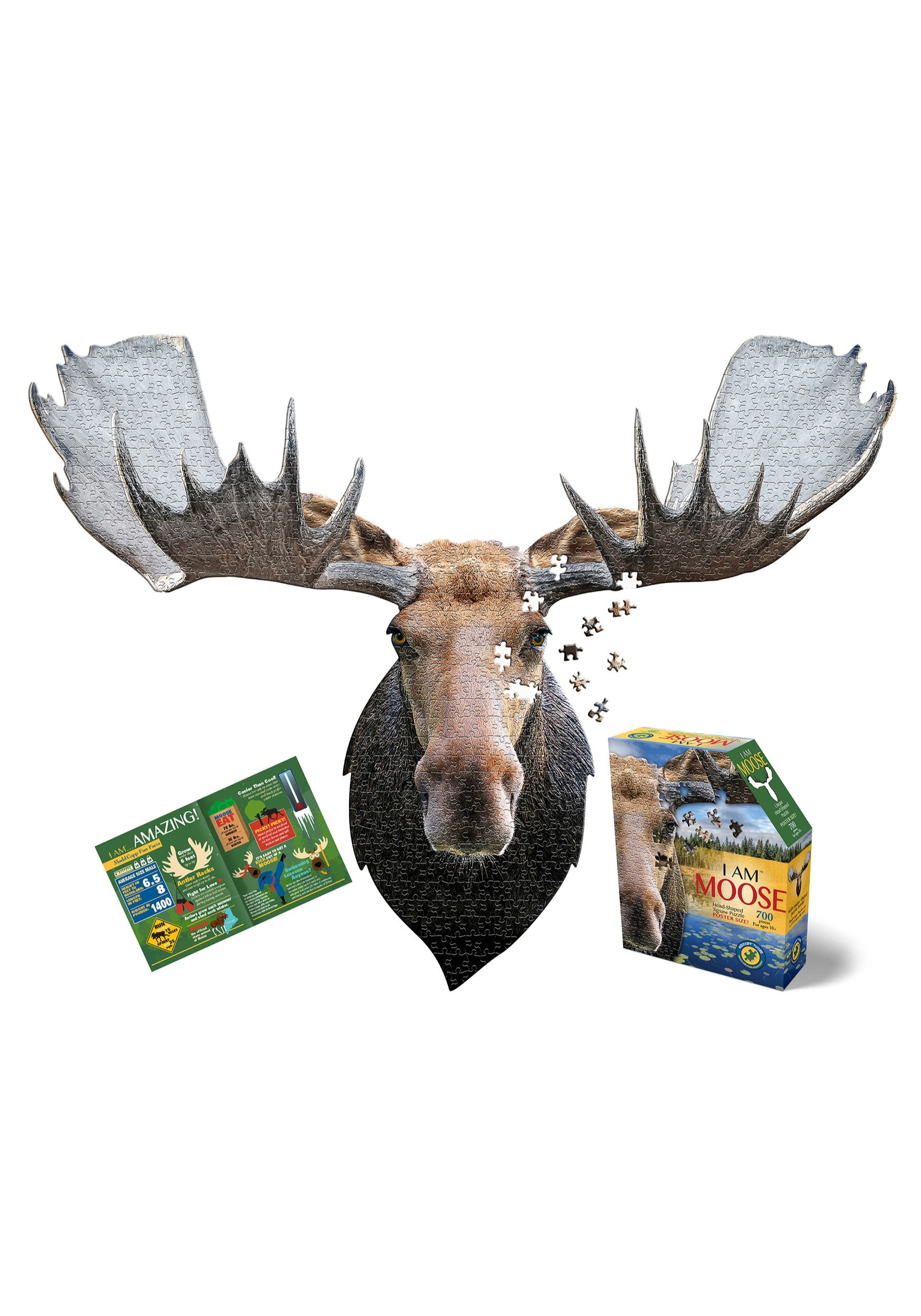 Madd Capp I Am Moose 700 Piece Puzzle