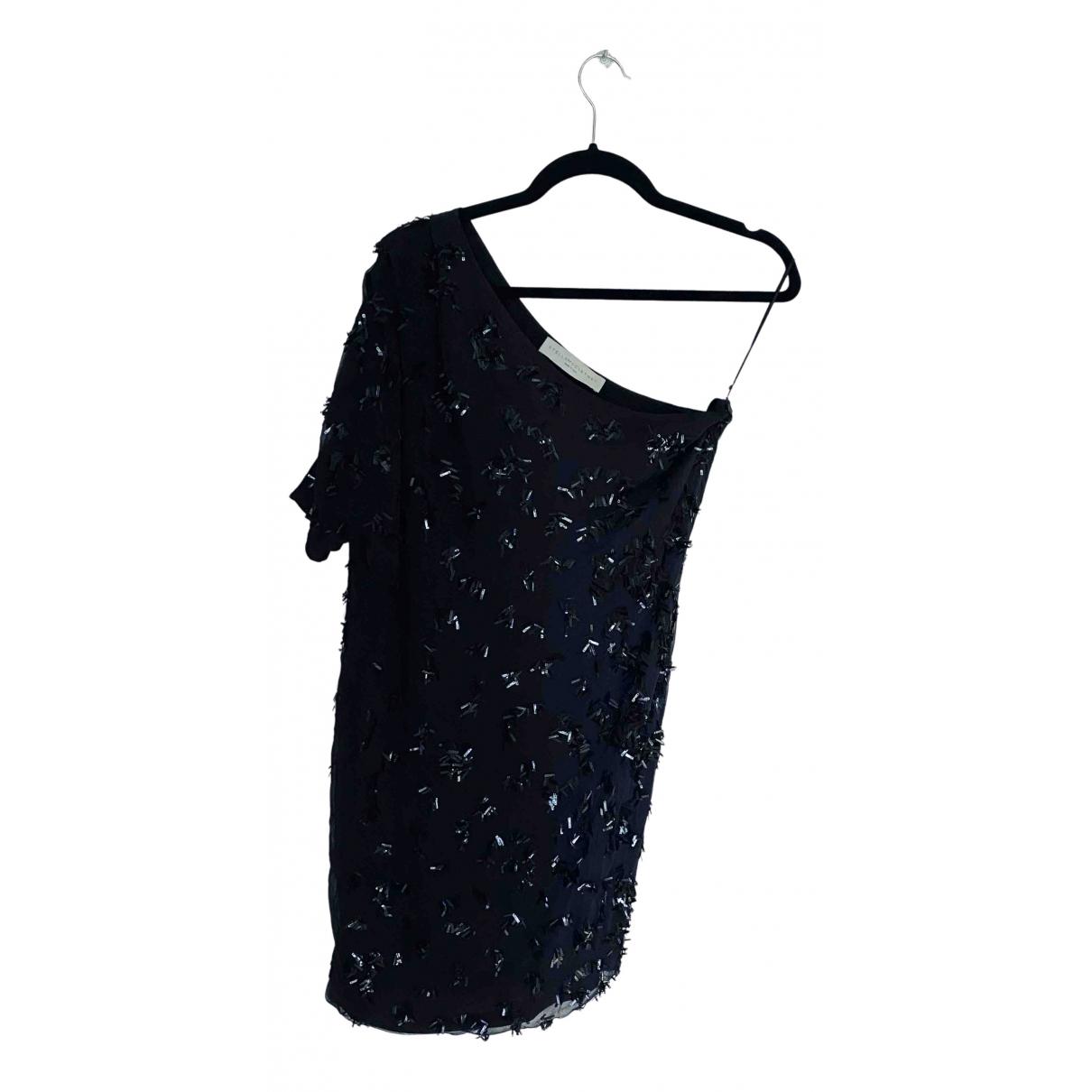Stella Mccartney \N Kleid in  Anthrazit Viskose