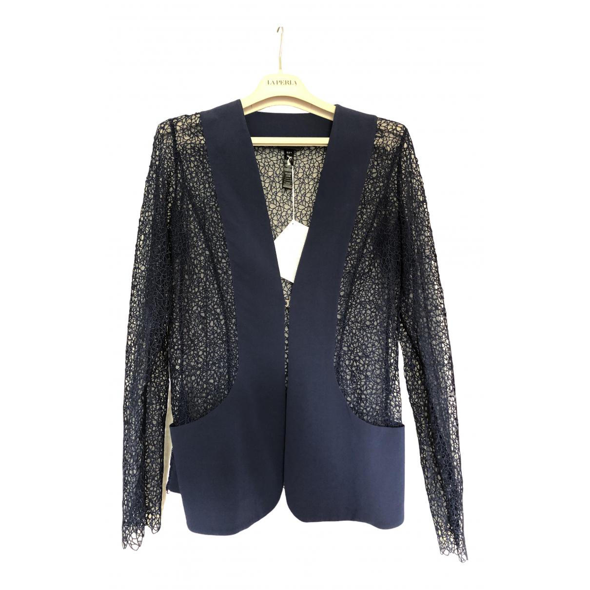 La Perla \N Navy Silk Knitwear for Women 44 IT