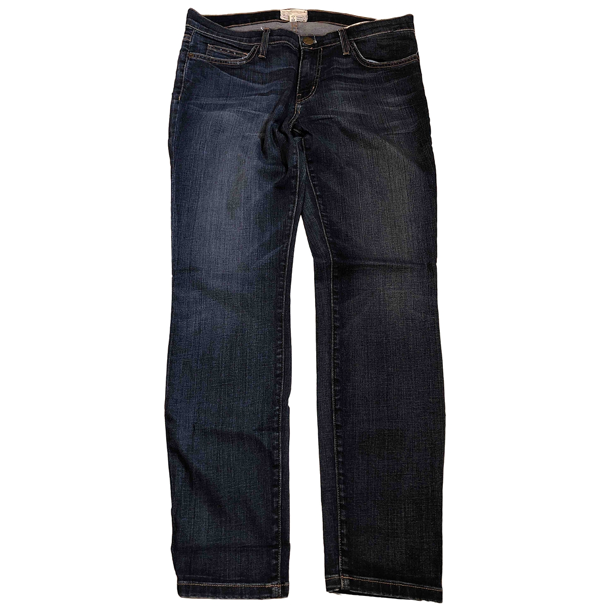 Current Elliott \N Blue Denim - Jeans Jeans for Women 30 US