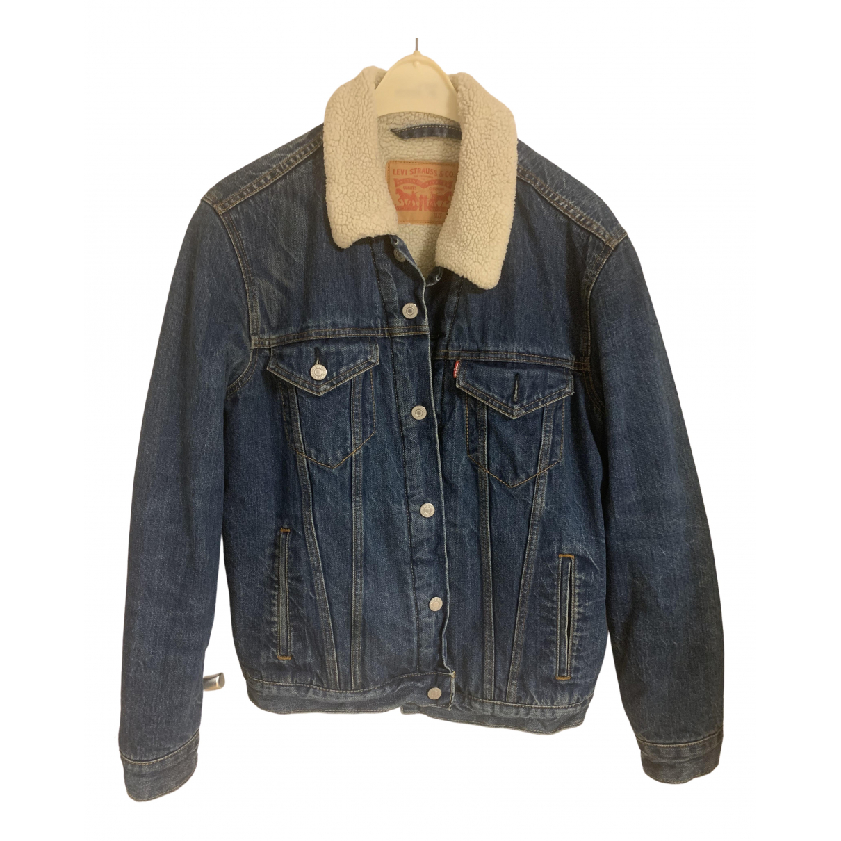 Levis Vintage Clothing - Vestes.Blousons   pour homme en denim - bleu