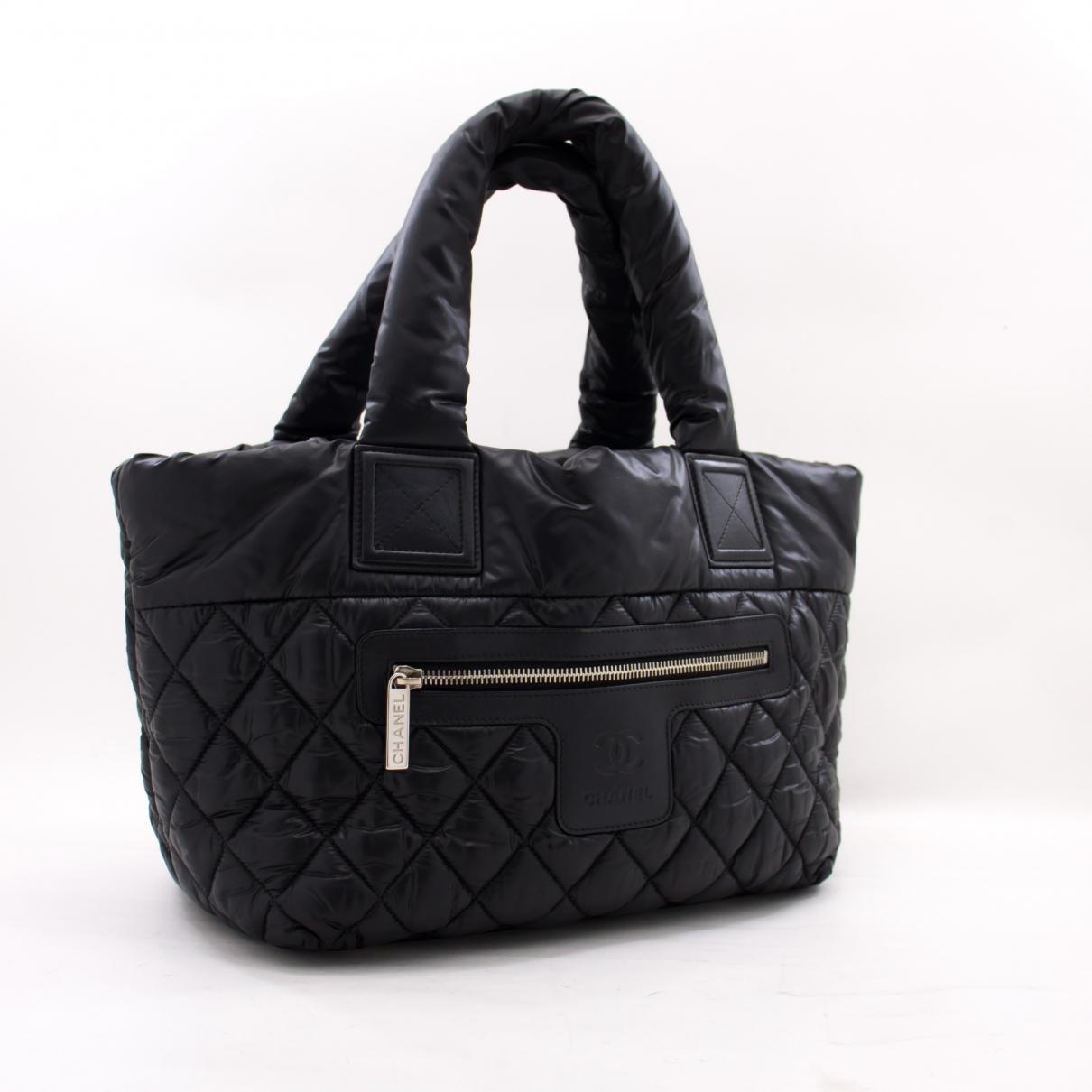 Chanel \N Handtasche in  Schwarz Synthetik