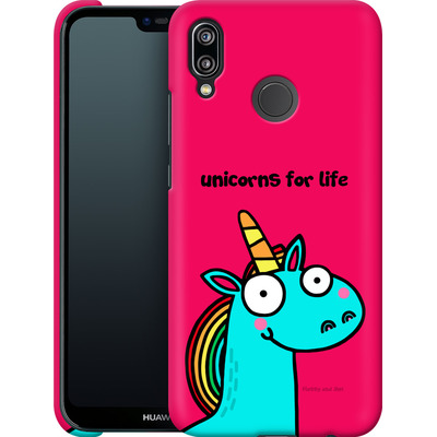 Huawei P20 Lite Smartphone Huelle - Unicorns for Life von Flossy and Jim