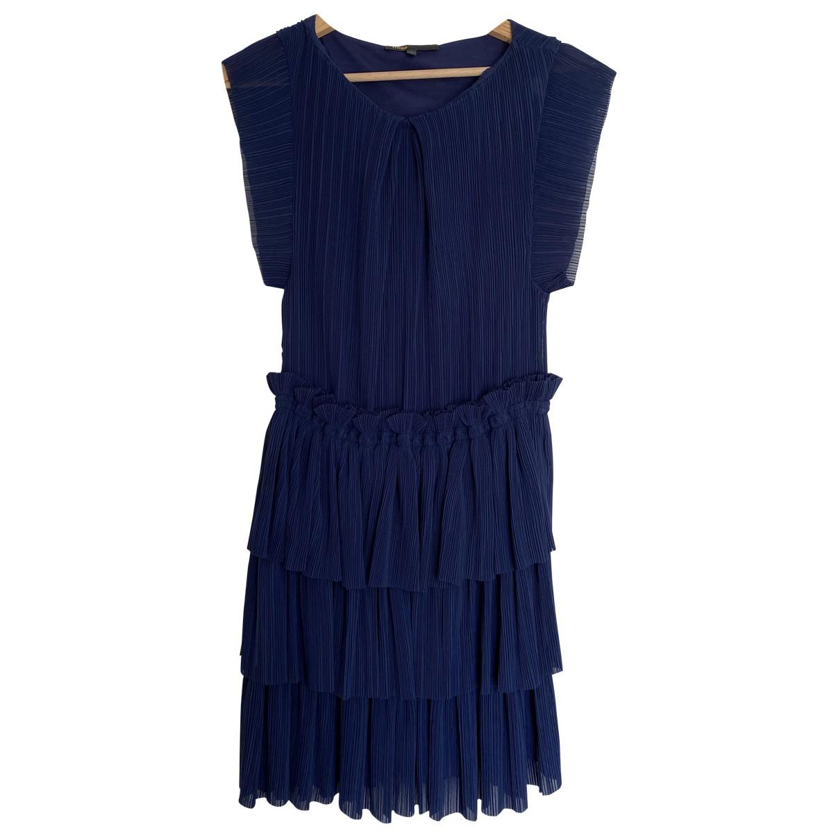 Maje \N Kleid in  Blau Polyester
