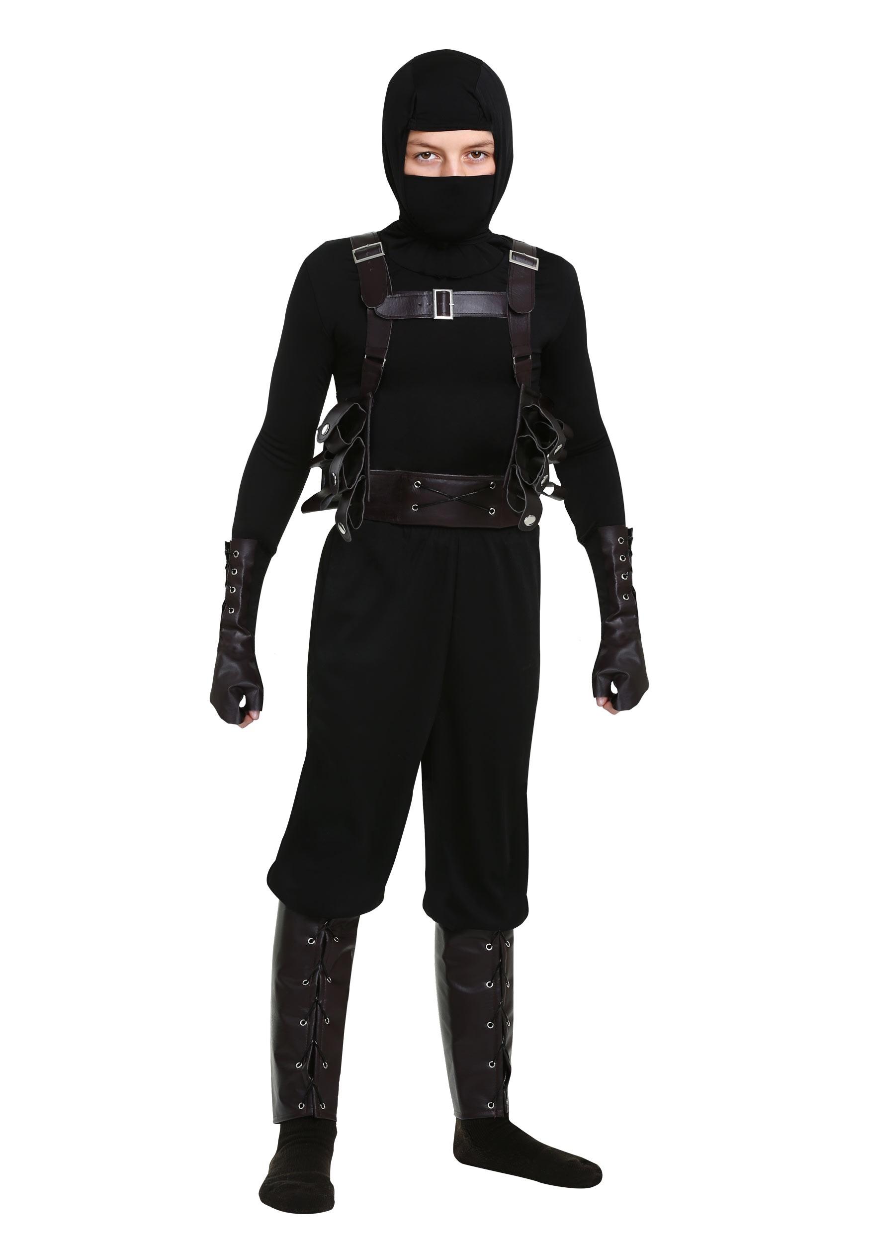 Boys Ninja Assassin Costume