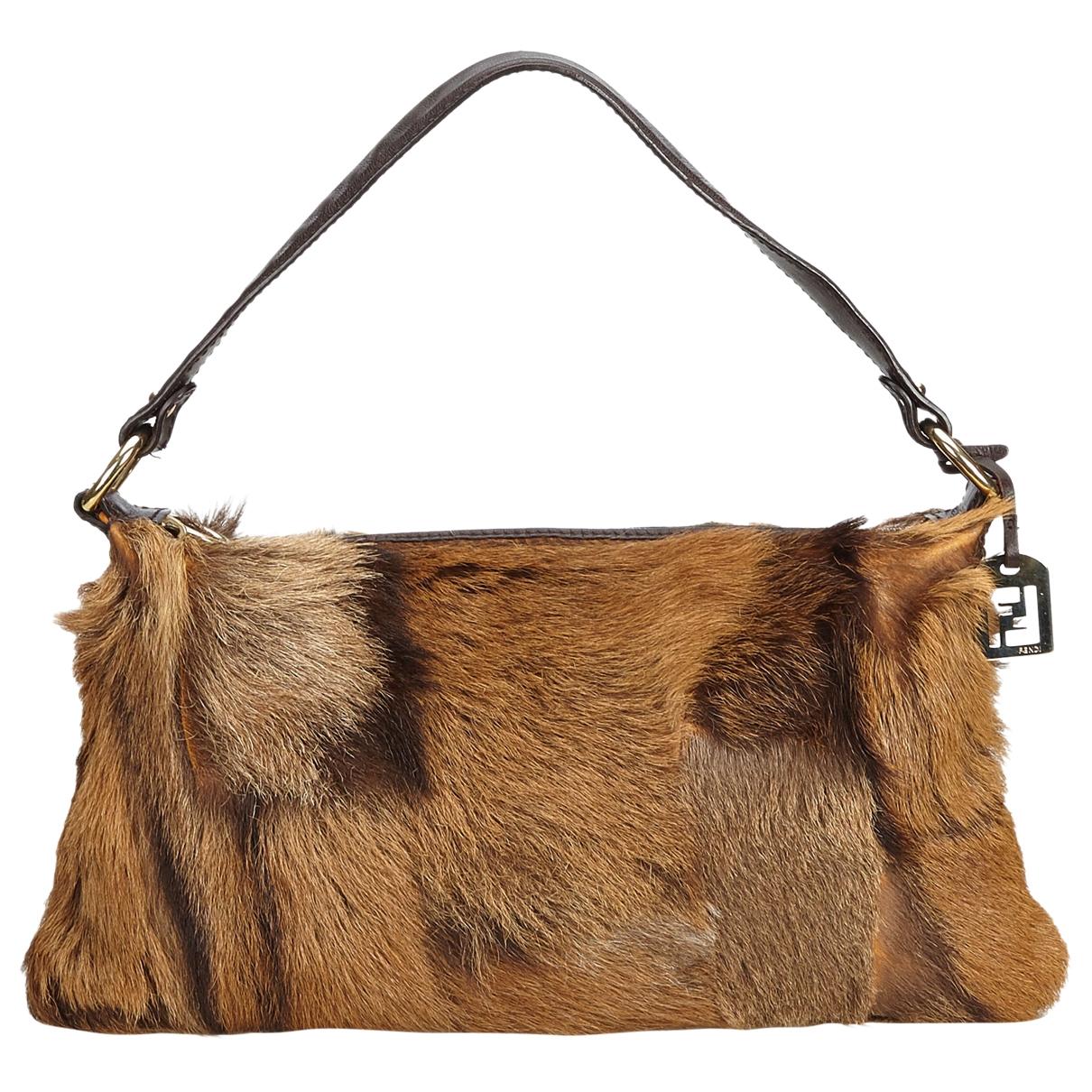 Fendi \N Brown Fur handbag for Women \N