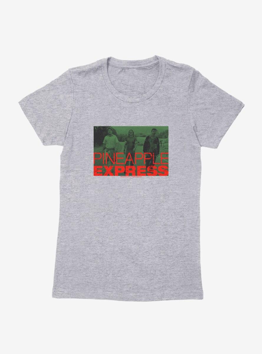 Pineapple Express Green Title Screen Womens T-Shirt