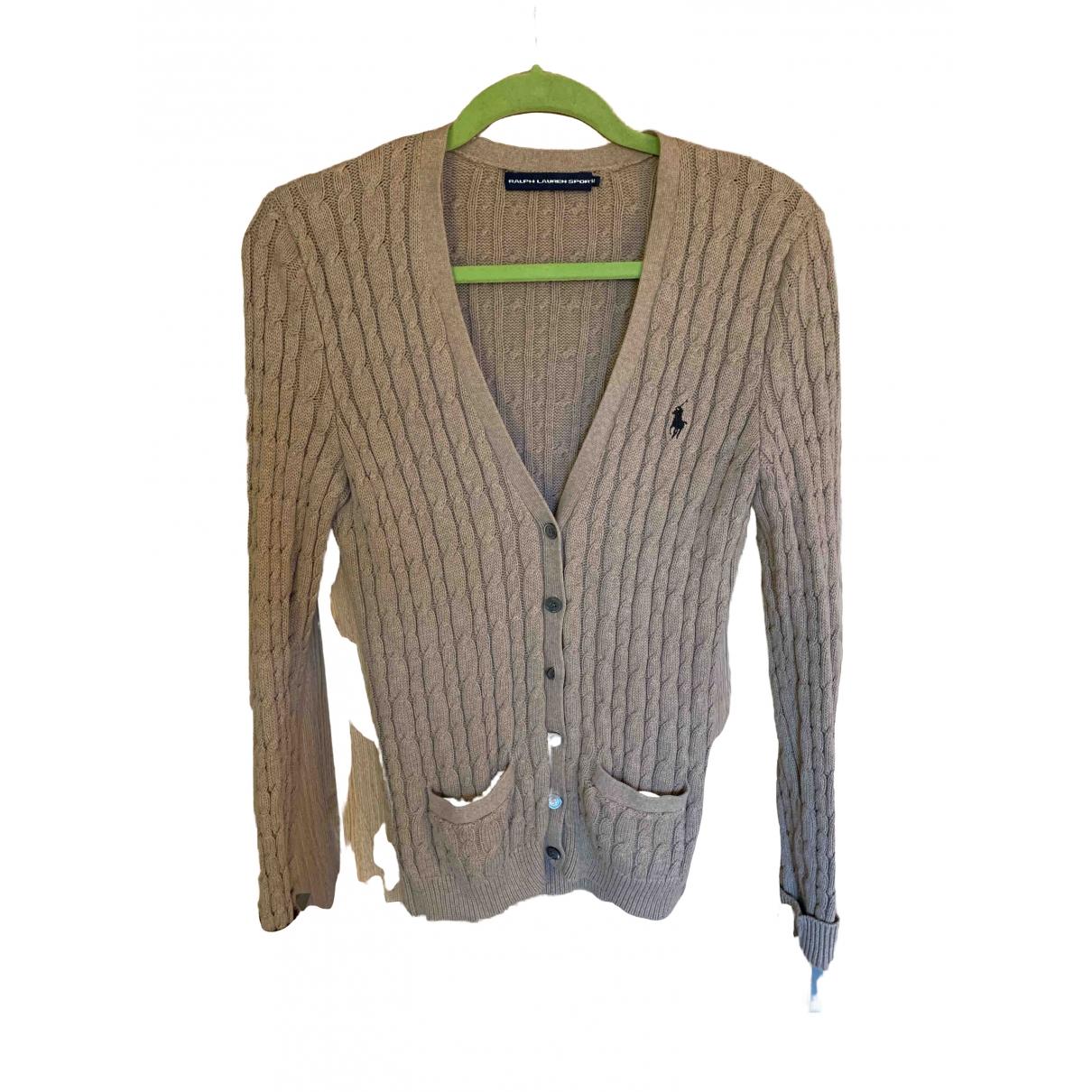 Ralph Lauren - Pull   pour femme en coton - beige