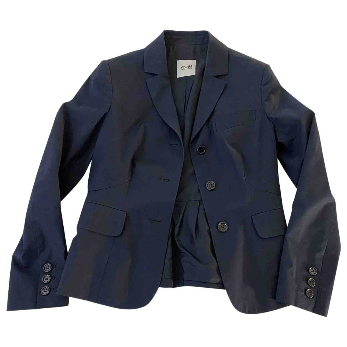 Moschino Cheap And Chic - Veste   pour femme en coton - bleu