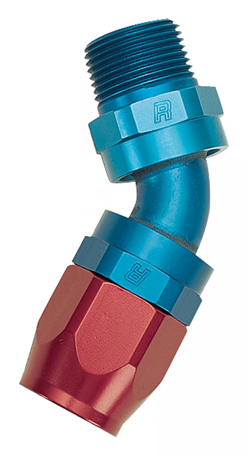 Russell FULL FLOW 45-DEG SWIVEL PIPE THREAD #6 1/4in. NPT